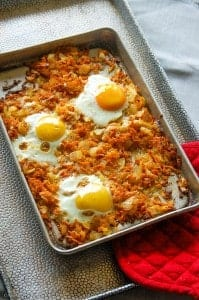 Sweet Potato Hash (veg)