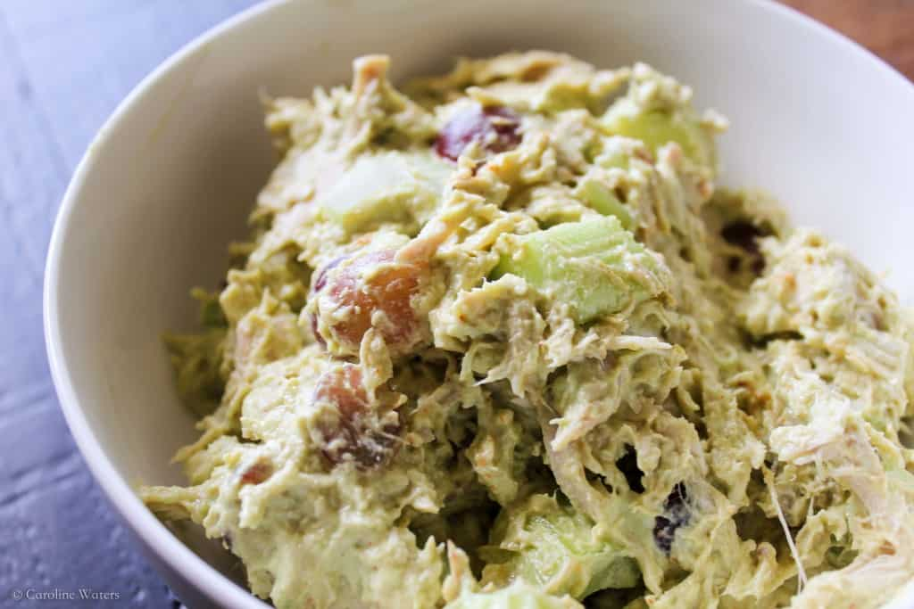 Avocado + Greek Yogurt Chicken Salad