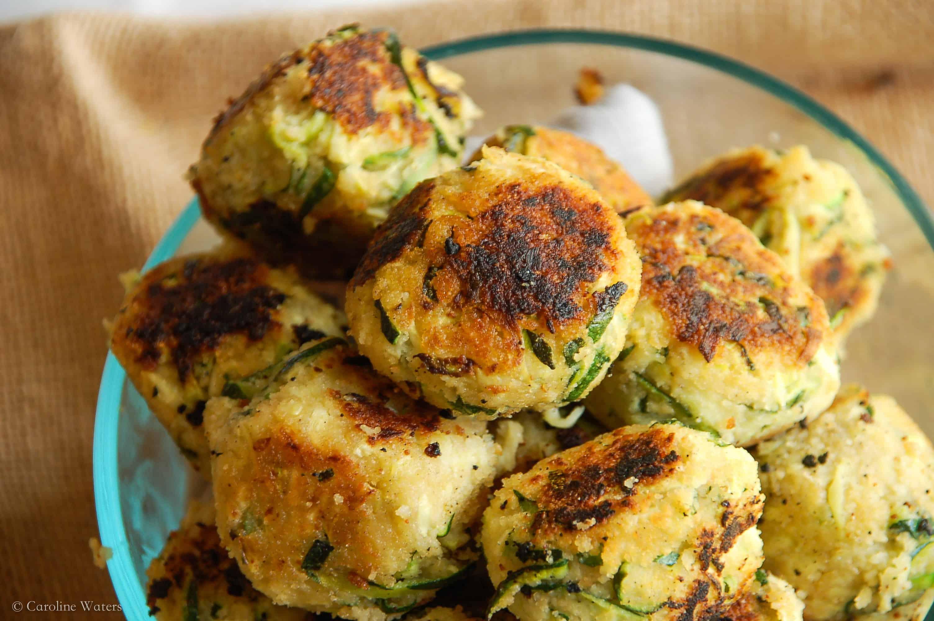 Tasty Zucchini Meatballs (veg)
