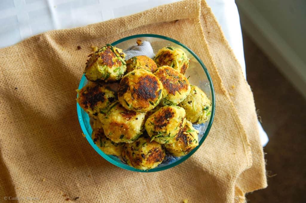 zucchini meatballs