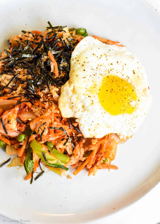 Vegetarian Kimchi Fried Rice (veg)