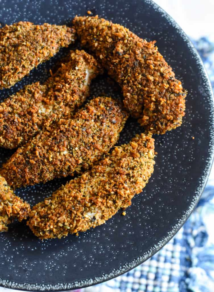 Low-Carb Crispy Chicken Tenders