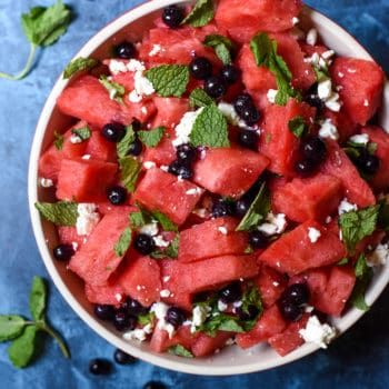 Refreshing Summer Watermelon Salad (veg)
