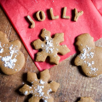 Healthier Holiday Cookies (two kinds!)