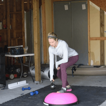 Full Body Bosu Blast Workout (Video!)