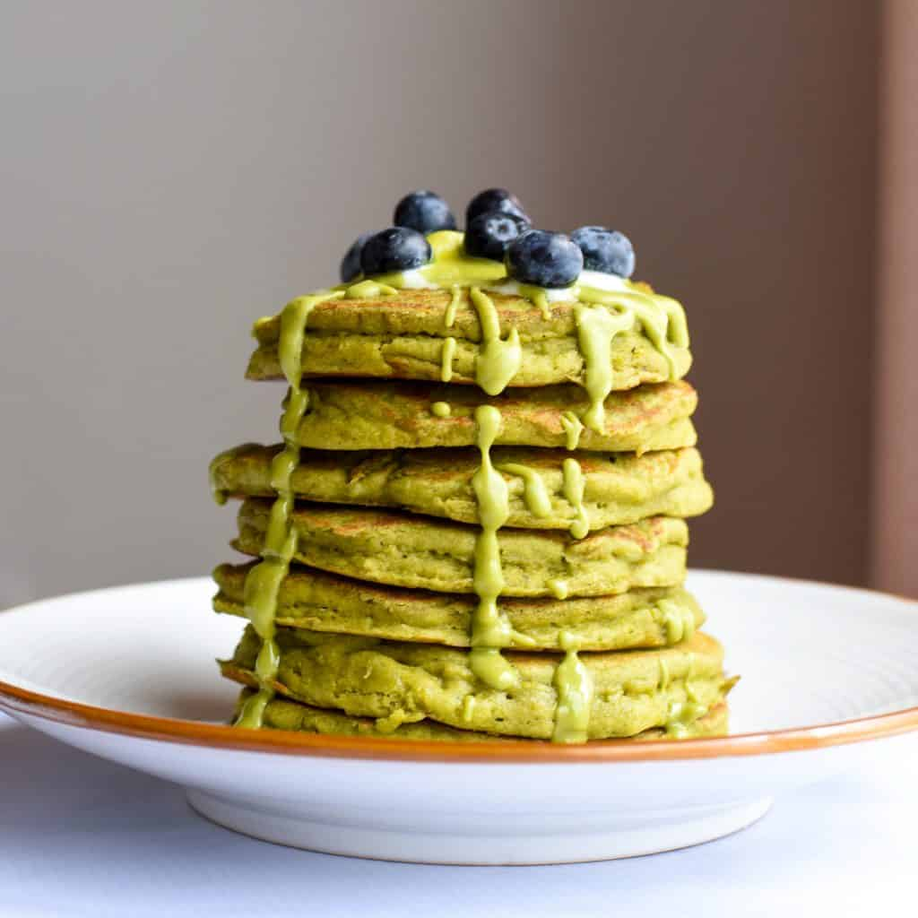 gluten-free-matcha-pancakes