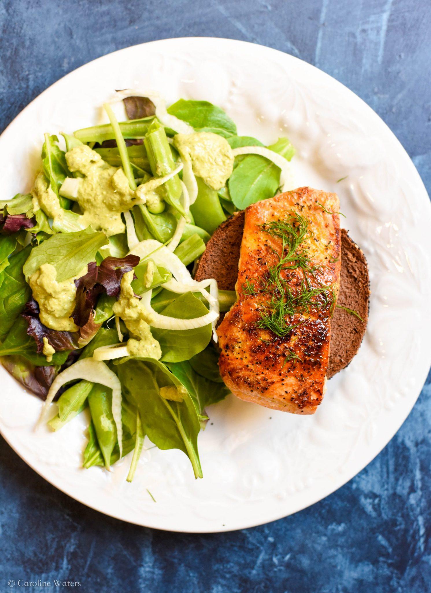 savory-salmon-and-greens-salad
