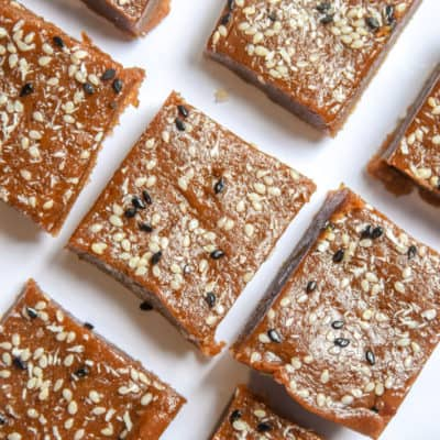 Crazy-Easy Date Almond Butter Fudge (vegan)