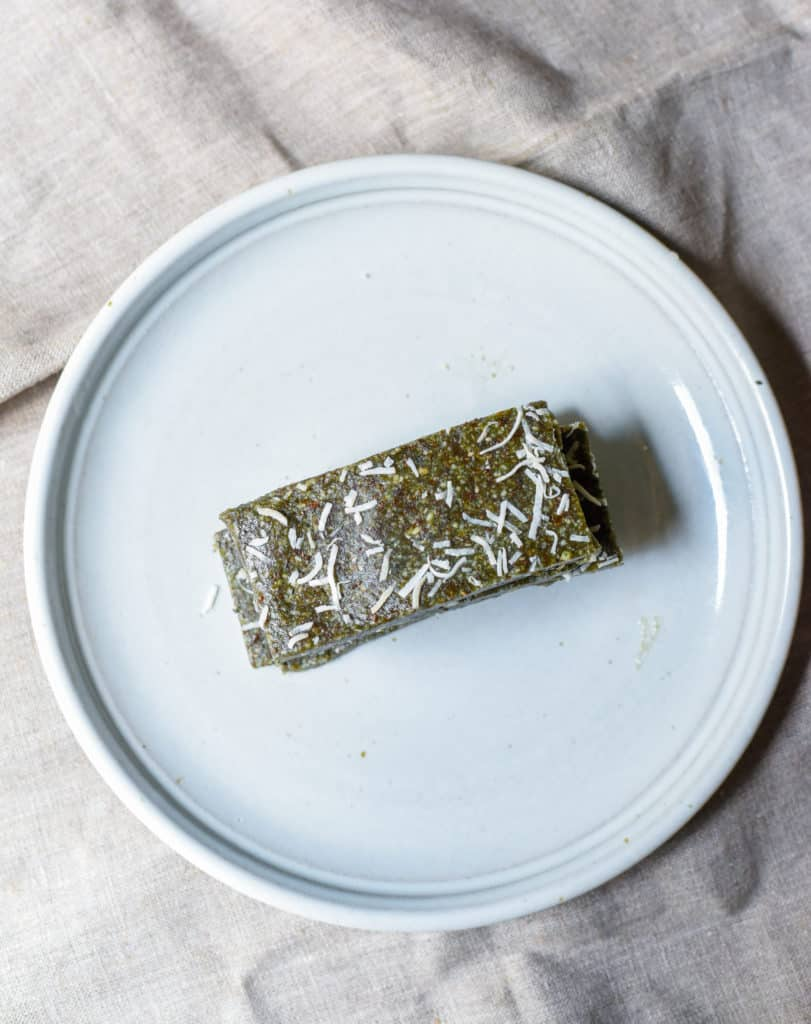 blue spirulina energy bars