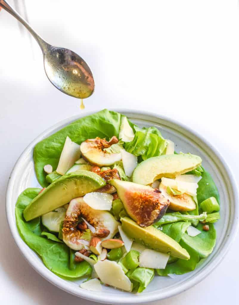 summertime-fig-almond-parmesan-salad