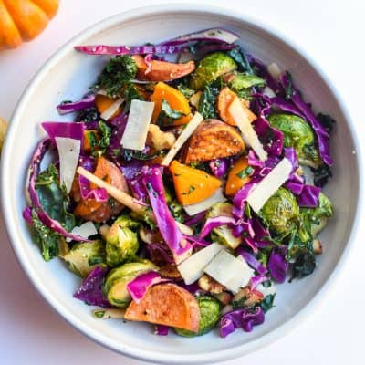 The Ultimate Fall Harvest Salad with Butternut Squash & Apples