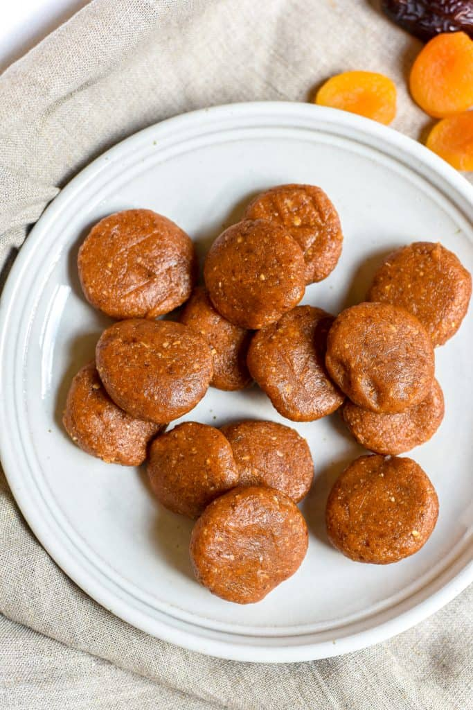 Apricot, Date, & Cashew Butter Cookies