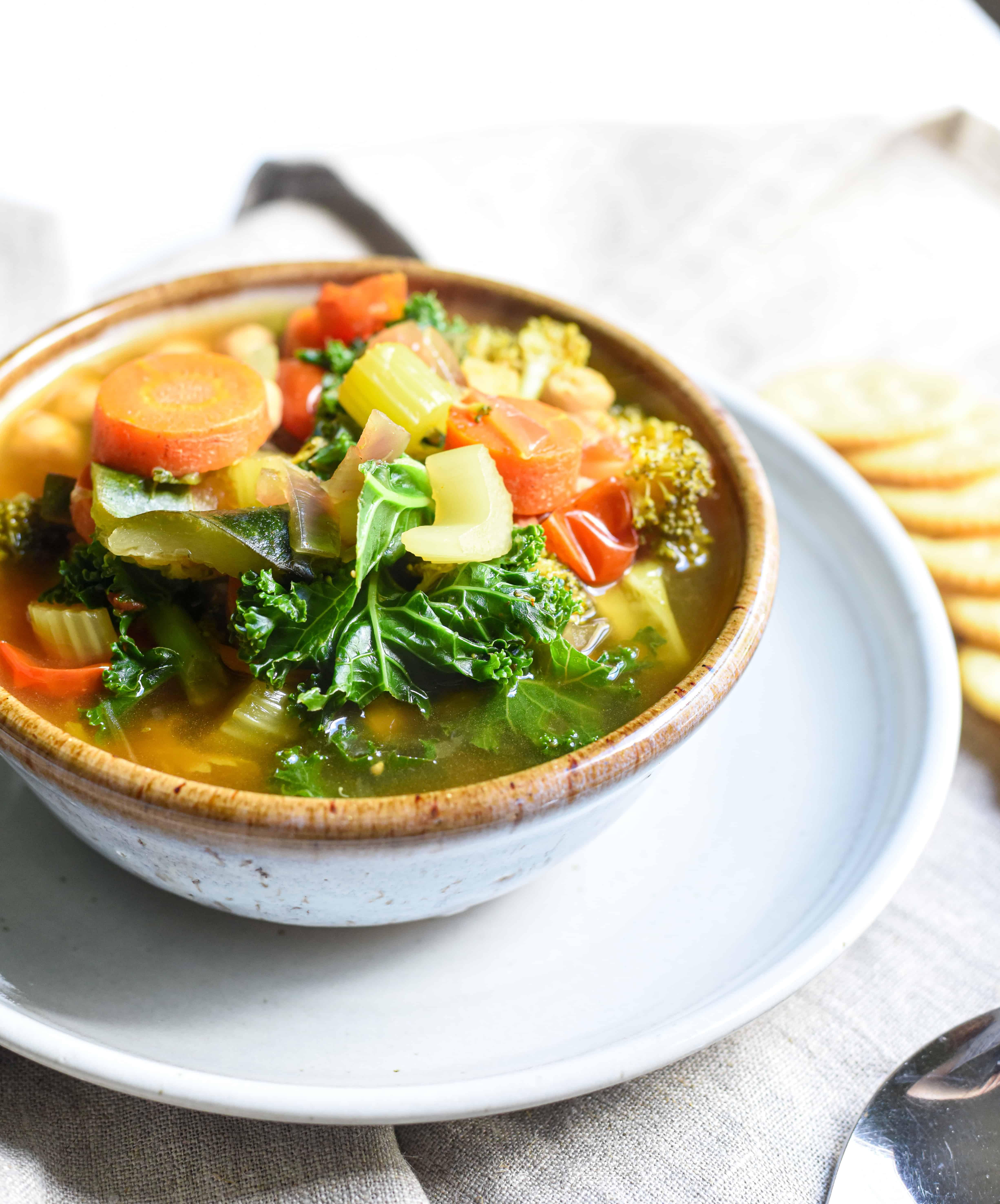 Comforting Homemade Vegetable Soup