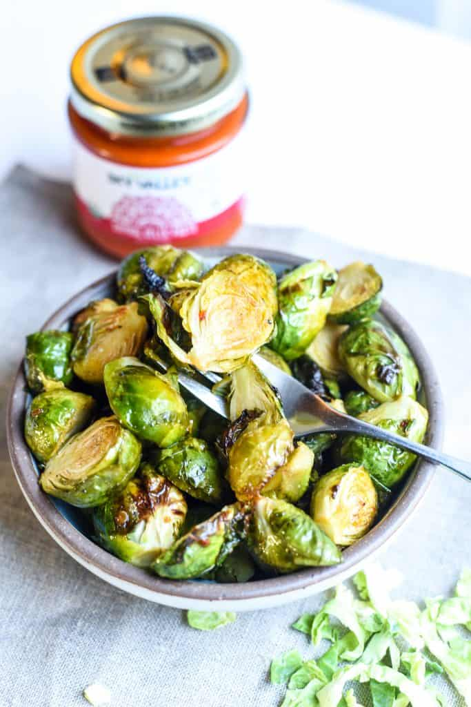 Asian-Inspired Roasted Brussel Sprouts