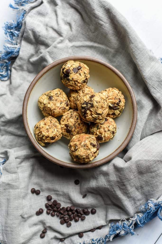Oatmeal Raisin Chocolate Chip Energy Balls