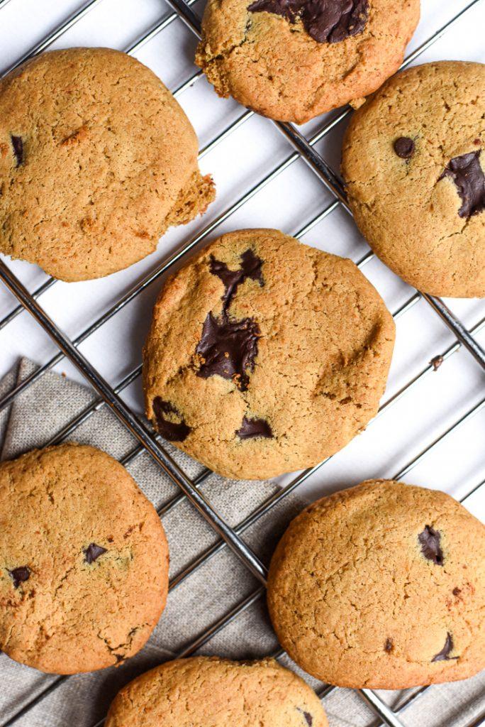 Classic choc chip cookies miso