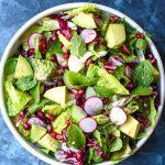 nourishing spring salad