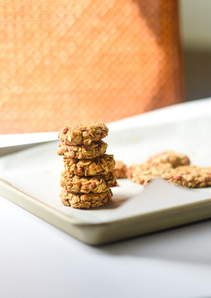 pb oat breakfast cookies