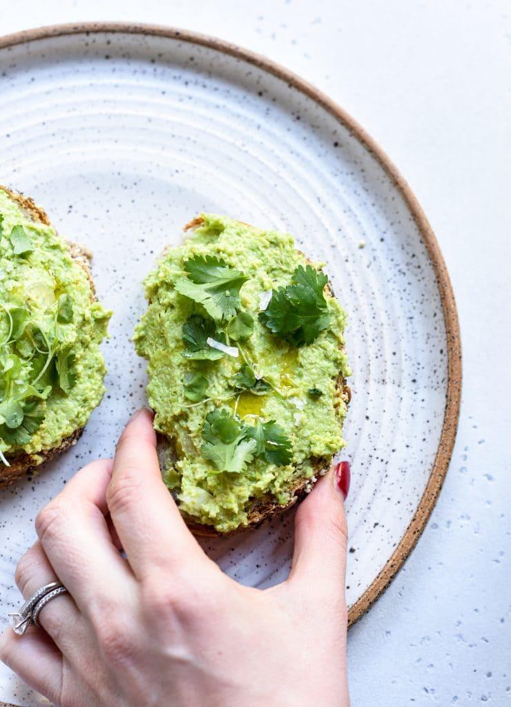 high-protein-avocado-toast