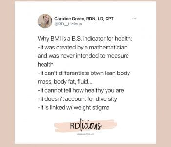 BMI isn't accurate