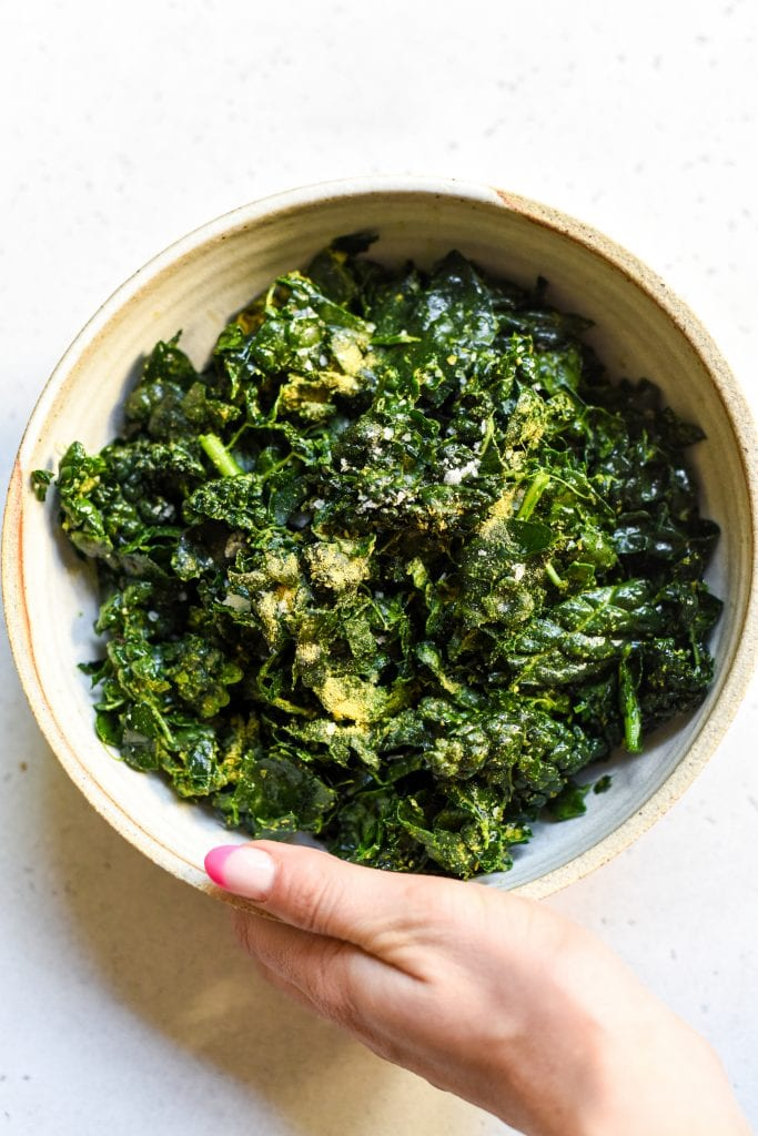 best damn massaged kale salad