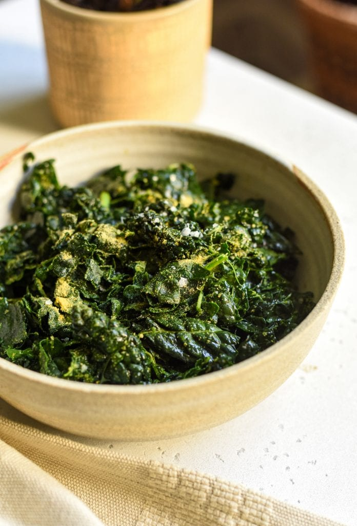 best basic massaged kale salad