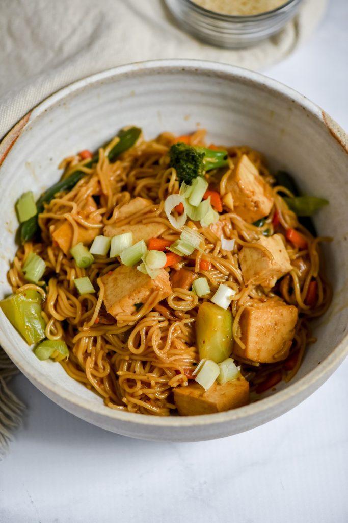 tofu veggie ramen